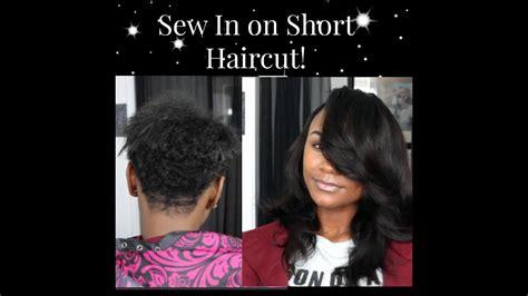 sew   short haircut youtube