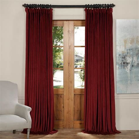 burgundy velvet blackout curtains exclusive fabrics furnishings signature burgundy