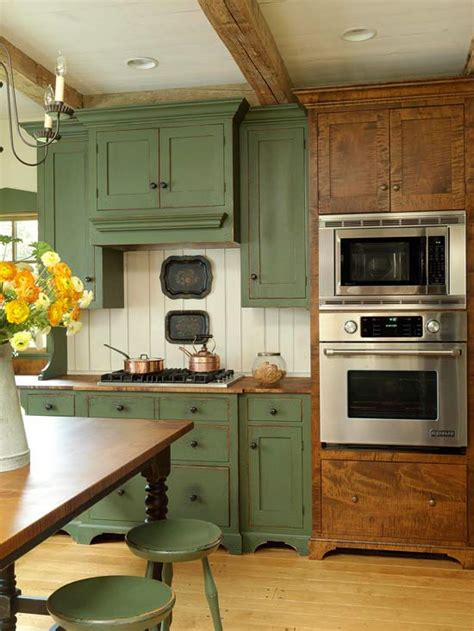 rustic green kitchen cabinets 35 ideen f 252 r k 252 chenr 252 ckwand gestaltung fliesen glas stein 4975