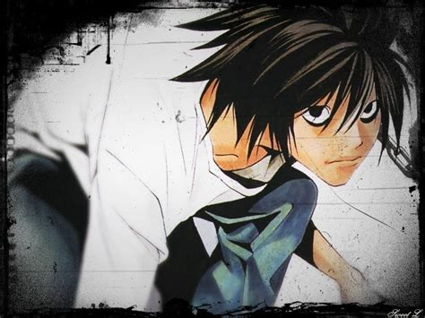 L Wallpapers Death Note  Wallpaper Cave