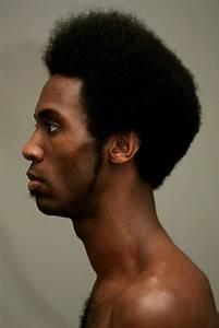 information about black man side face