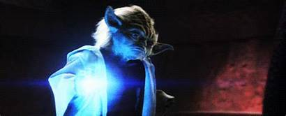 Force Yoda Lightning Wars Star Gifs Sith