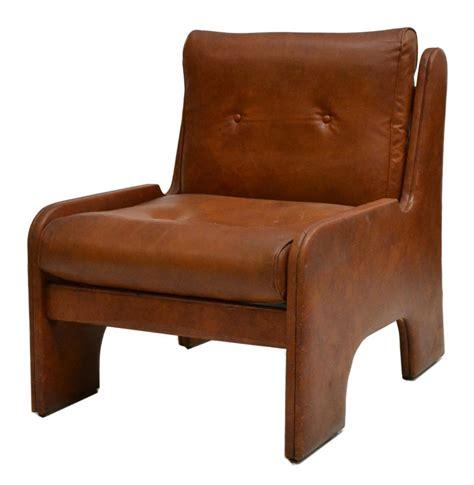 italian modern design faux leather club chair may