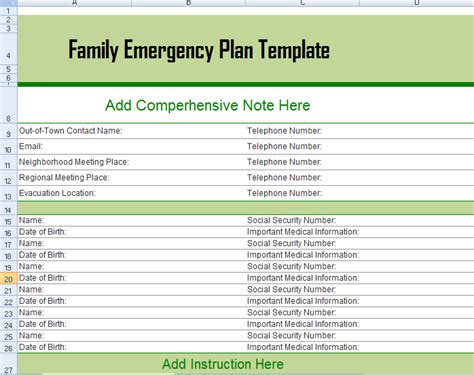 management templates microsoft excel templates