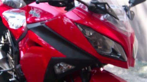 All New 2013 Kawasaki Ninja 250 Fi Red