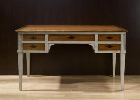 bureau meuble bois bureau ministre en merisier massif de style directoire