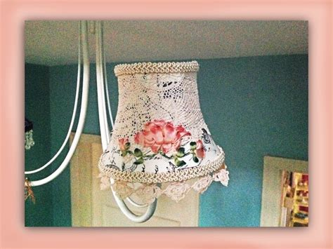 How To Make A Shabby Chic Silk Embroidered Lampshade