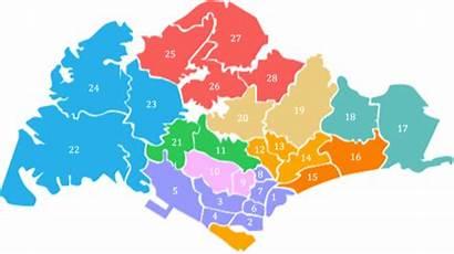 Singapore District Code Map Sg Postal Codes