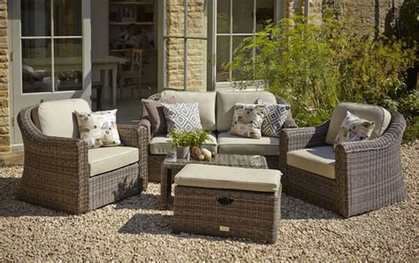 Outside Garden Furniture by Hartman Semerang Birch Lounge Set With Weather Ready