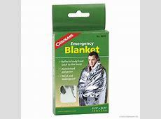 Emergency Blanket, All Weather Thermal Survival Blanket