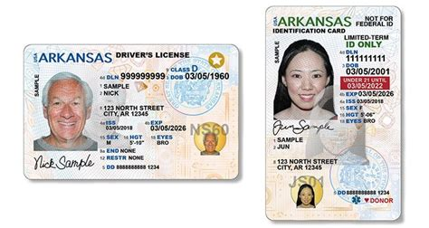 state unveils  arkansas drivers licenses  id cards