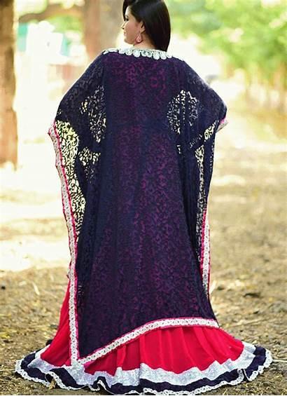 Moroccan Marroqui Estilo Kaftan Colored