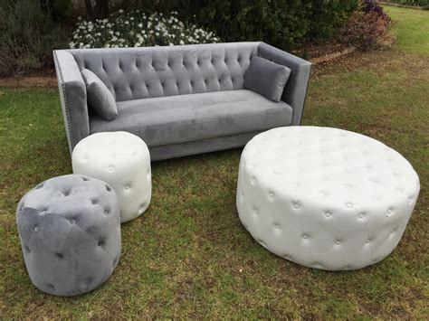 large white tufted ottoman white tufted large round ottoman 4 seats rocket events