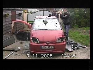 Mettre Voiture A La Casse : petit d lire de msdr la voiture etait deja foutu chassie cass youtube ~ Medecine-chirurgie-esthetiques.com Avis de Voitures