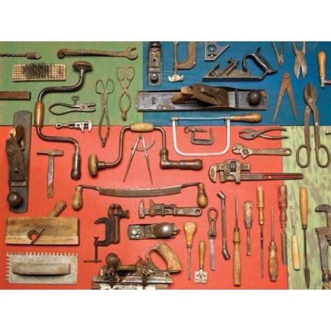 vintage tools piece puzzle