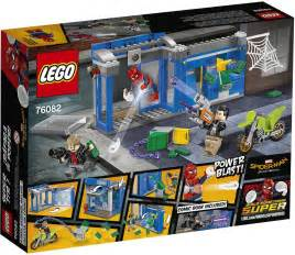 Official Box Art Images of LEGO Marvel Superheroes Spider ...