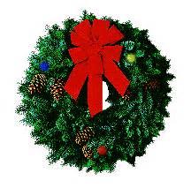 BAÚL DE NAVIDAD: Coronas animadas navideñas para el blog