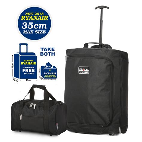 vueling cabin baggage ryanair max 35x20x20cm luggage 55x40x20cm trolley