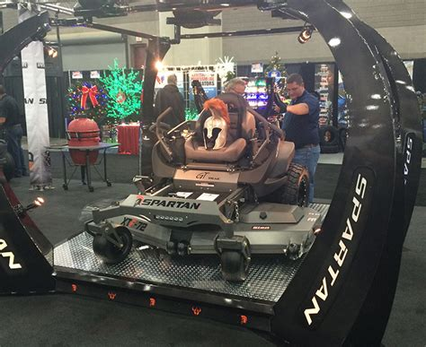 spartan mowers launches    turn models