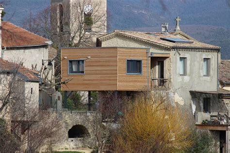 maison ossature bois drome construction et extension de maison en bois sur valence os 233 bois