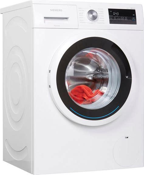 siemens waschmaschine iq300 wm14n121 7 kg 1400 u min kaufen otto
