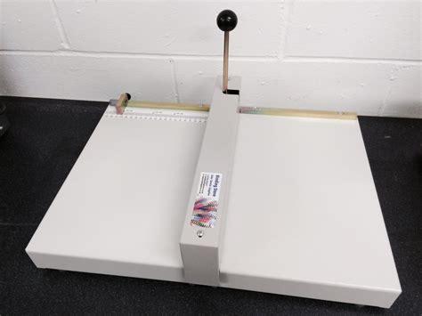 oslo mc  manual  papercard creasing machine