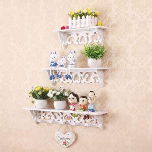 versi tebal rak dekorasi vintage 1 set isi 3 pcs hiasan