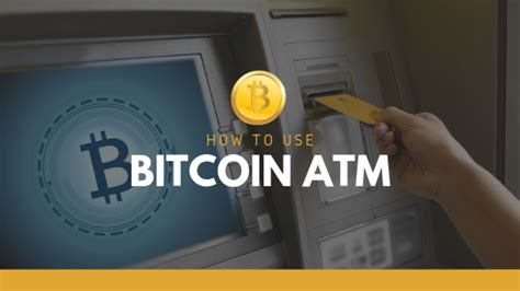 Wouldn't it be great if some magical vending machine existed that spat out a bitcoin atm (automated teller machine) is functionally similar to the atms commonly used to. How To Use Bitcoin ATM Machine? - Live Crypto News - Medium
