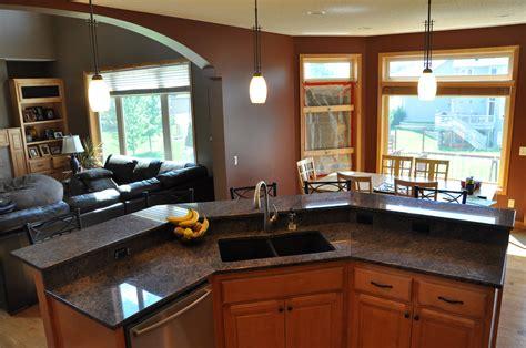 L Shaped Kitchen Islands - granite unlimited testimonials st paul granite marble
