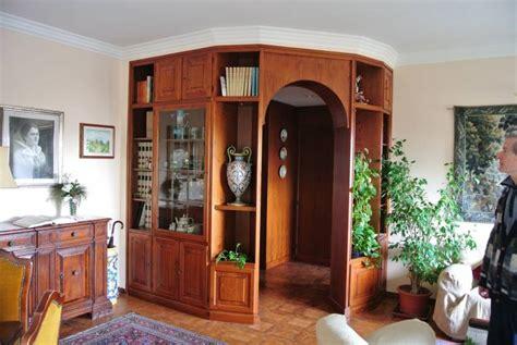 libreria boiserie libreria divisoria 4 in legno fabbrica di zona giorno su