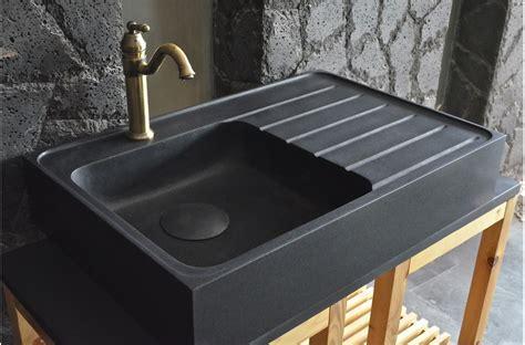 evier de cuisine noir évier en pour cuisine shadow granit grand
