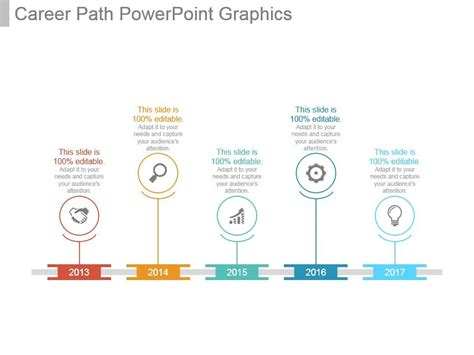 career path powerpoint graphics powerpoint
