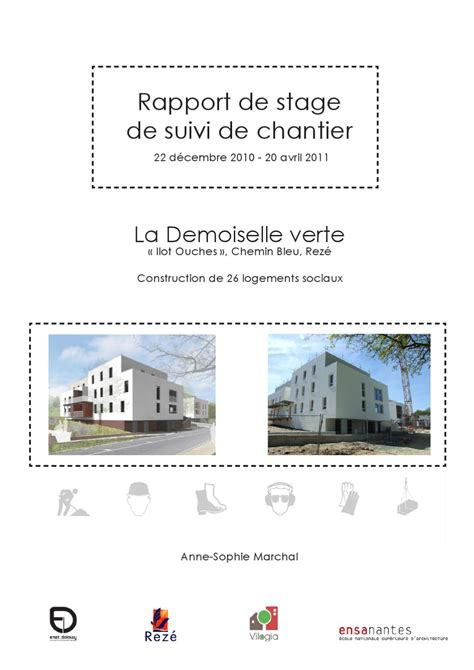 rapport de stage cuisine collective stage suivi de chantier by marchal issuu
