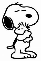 Snoopy Coloring Woodstock Pages Popular sketch template