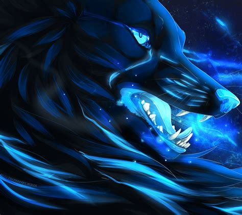 Blue Cool Wolf Wallpaper by Blue Wolf Wallpapers Top Free Blue Wolf Backgrounds