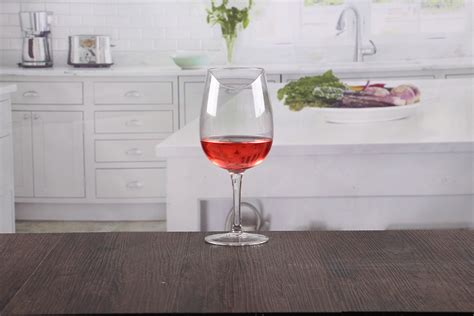 Elegant Crystal Red Wine Glasses Stemware Glasses Top