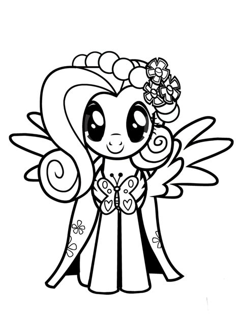 mlp coloring fluttershy coloring pages best coloring pages for
