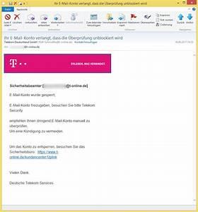Telekom Deutschland Gmbh Rechnung Online : ihr e mail konto verlangt dass die berpr fung ~ Themetempest.com Abrechnung