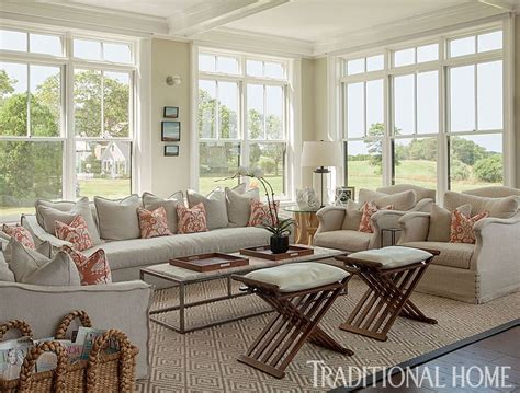 lovely new summer home with neutral palette