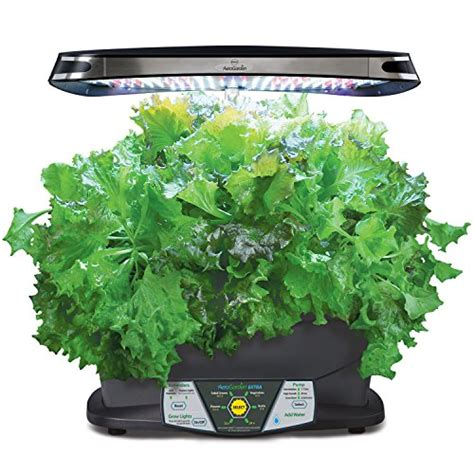 aero herb garden aerogarden led with gourmet herb seed pod kit for