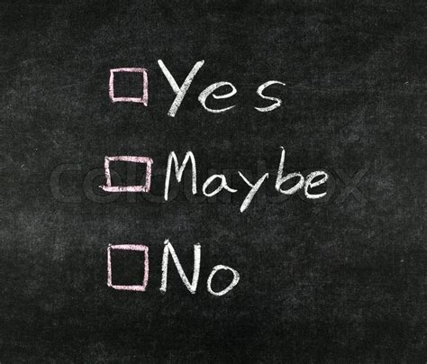 is black a color yes or no yes no maybe and check boxes drawing stock photo