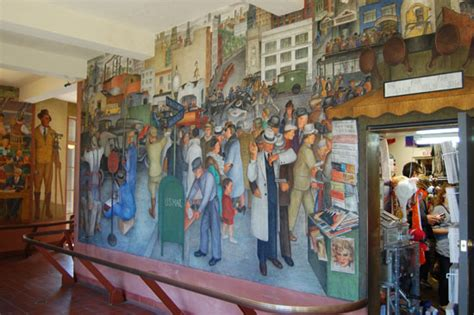 Coit Tower Murals Controversy by Coit Tower Murals Www Pixshark Images Galleries