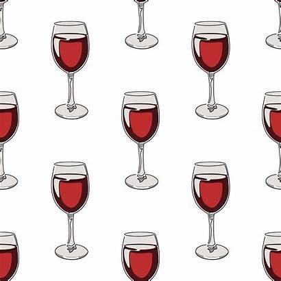 Wine Glasses Pattern Seamless Vecteezy Vectors Clipart