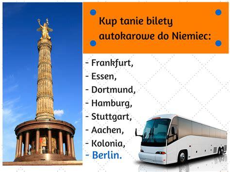autobusy z niemiec do polski autobus polska berlin tanie bilety autokarowe polska niemcy