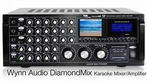 Wynn Audio Diamond Mix Professional Karaoke Mixer