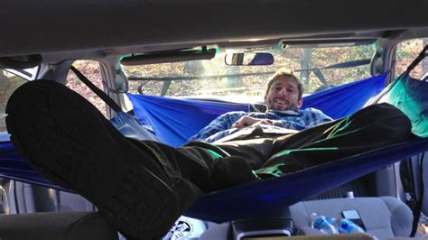 Truck Hammock by A Hammock For Your Car Gives You A Cheap Home If The