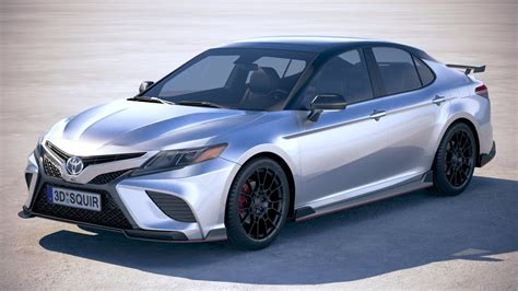 toyota camry trd   cgtrader