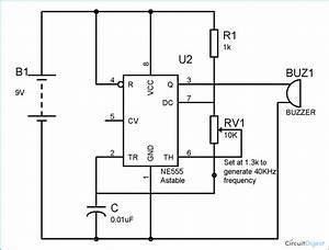 Mosquito Repellent Circuit Diagram