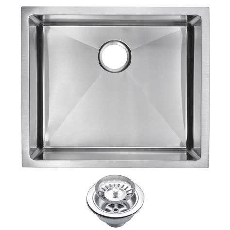 kitchen sinks small water creation undermount small radius stainless steel 3054