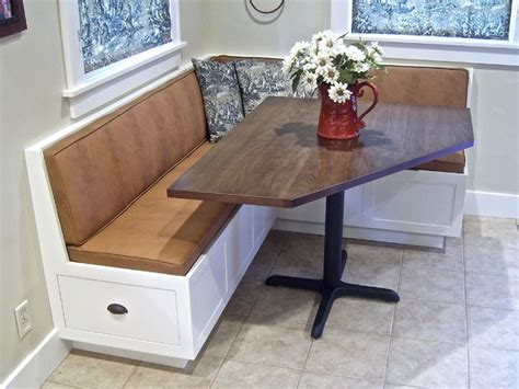 corner banquette  table traditional dining tables